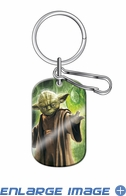Key Chain - Dog Tag - Star Wars - Yoda