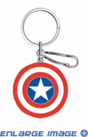 Key Chain - Metal - Marvel Avengers - Captain America - Shield
