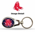 Key Chain - Metal Oval - Boston Red Sox