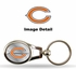 Key Chain - Metal Oval - Chicago Bears