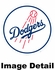 Key Chain - Metal Oval - Los Angeles Dodgers
