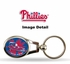 Key Chain - Metal Oval - Philadelphia Phillies