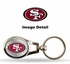 Key Chain - Metal Oval - San Francisco 49ers