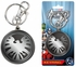 Key Chain - Pewter - Marvel Avengers - S.H.I.E.L.D.