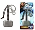 Key Chain - Pewter - Marvel Avengers - Thor Hammer 2 - The Dark World