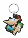 Key Chain - PVC Soft Touch - Car Truck SUV - Disney - Phineas and Ferb