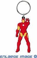 Key Chain - Soft Touch - Marvel Avengers - Iron Man