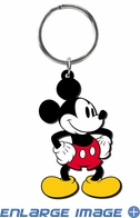 Key Chain - Soft Touch - Mickey Mouse