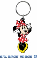 Key Chain - Soft Touch - Minnie Mouse