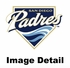 Lanyard with Key Chain Clip and Velcro closure - Blue - San Diego Padres