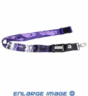 Lanyard with Key Chain Clip - Disney - Nightmare Before Christmas - Jack Ghost