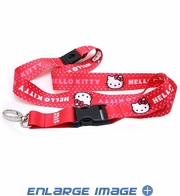 Lanyard with Key Chain Clip - Sanrio - Hello Kitty