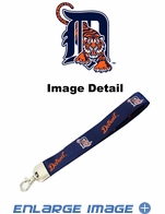 Lanyard with Key Chain Clip - Wristlet - Detroit Tigers