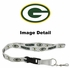 Lanyard with Key Chain Clip and Velcro closure - Green Bay Packers