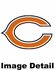 License Plate Frame - Chrome Metal - Bling - Car Truck SUV - Chicago Bears