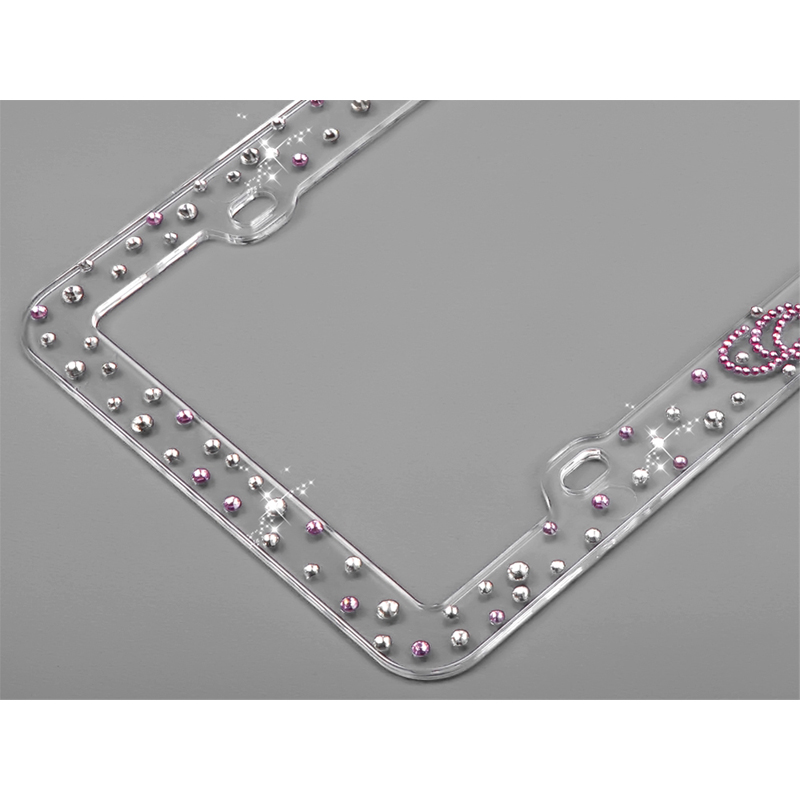 Contemporary Princess License Plate Frames Ornament - Framed Art ...