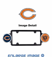 License Plate Frame Plastic - Badge - Car Truck SUV - Chicago Bears