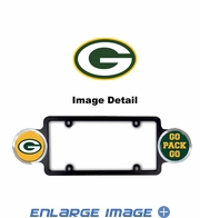 License Plate Frame Plastic - Badge - Car Truck SUV - Green Bay Packers