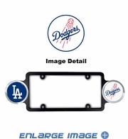 License Plate Frame Plastic - Badge - Car Truck SUV - Los Angeles Dodgers