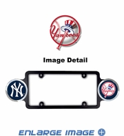 License Plate Frame Plastic - Badge - Car Truck SUV - New York Yankees