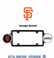 License Plate Frame Plastic - Badge - Car Truck SUV - San Francisco Giants