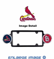 License Plate Frame Plastic - Badge - Car Truck SUV - St. Louis Cardinals