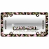 License Plate Frame - Plastic - Car Truck SUV - Camouflage - Camo Girl - Pink