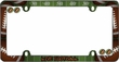 License Plate Frame - Plastic - Car Truck SUV - Live Football