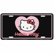 License Plate Tag - Metal - Car Truck SUV - Sanrio - Hello Kitty