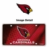 License Plate Tag Metal - Car Truck SUV - Arizona Cardinals