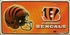 License Plate Tag Metal - Car Truck SUV - Cincinnati Bengals
