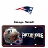 License Plate Tag Metal - Car Truck SUV - New England Patriots