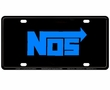 License Plate Tag - Metal - Car Truck SUV - NOS - Blue