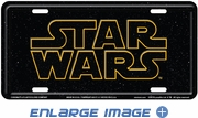 License Plate Tag Metal - Car Truck SUV - Star Wars
