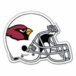 "Magnet - Fridge Home Kitchen - Large 12"" Inches - Helmet - NFL - Arizona Cardinals"