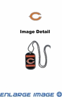 Necklace - Dog Tag - Chicago Bears