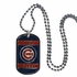 Necklace - Dog Tag - Chicago Cubs