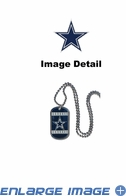 Necklace - Dog Tag - Dallas Cowboys
