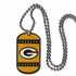 Necklace - Dog Tag - Green Bay Packers