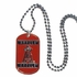Necklace - Dog Tag - Los Angeles Angels of Anaheim