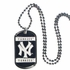 Necklace - Dog Tag - New York Yankees