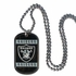 Necklace - Dog Tag - Oakland Raiders