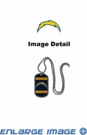 Necklace - Dog Tag - San Diego Chargers