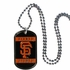 Necklace - Dog Tag - San Francisco Giants