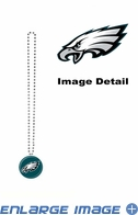 Necklace - Mardi Gras Party Beads - Philadelphia Eagles