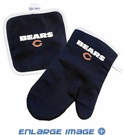 Oven Mitt and Potholder - Kitchen Set - Chicago Bears