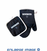 Oven Mitt and Potholder - Kitchen Set - Dallas Cowboys