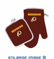 Oven Mitt and Potholder - Kitchen Set - Washington Redskins