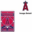 Parking Sign - Los Angeles Angels of Anaheim - FAN ZONE