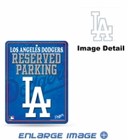 Parking Sign - Metal - Los Angeles Dodgers - RESERVED PARKING